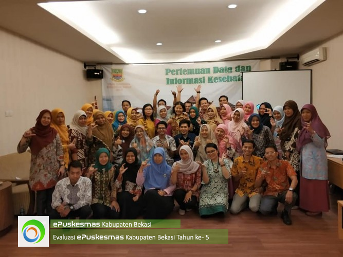 District Health Office Evaluation Bekasi 5th year