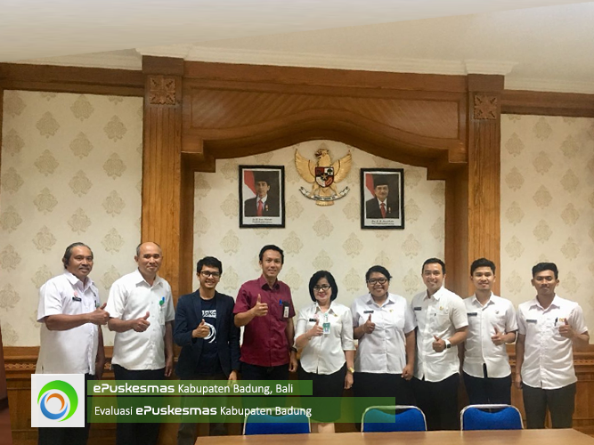 Evaluation ePuskesmas District Badung, Bali