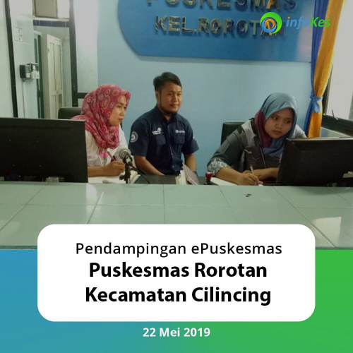 Assistance for ePuskesmas NG at the Rorotan Sub-district Health Center, North Jakarta
