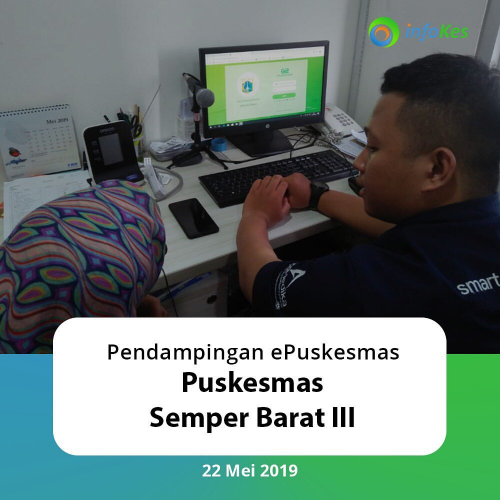 Assistance for ePuskesmas NG at Semper Barat III Health Center, North Jakarta